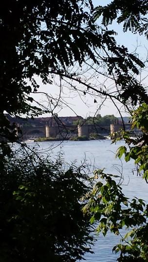 7 Blick auf die alte mainbrücke