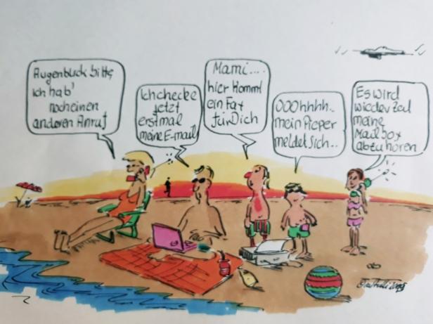 Cuxhaven Cartoon 6