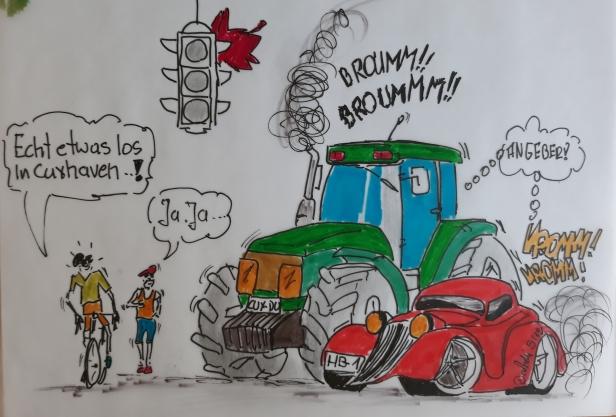 Cuxhaven Cartoon 7a