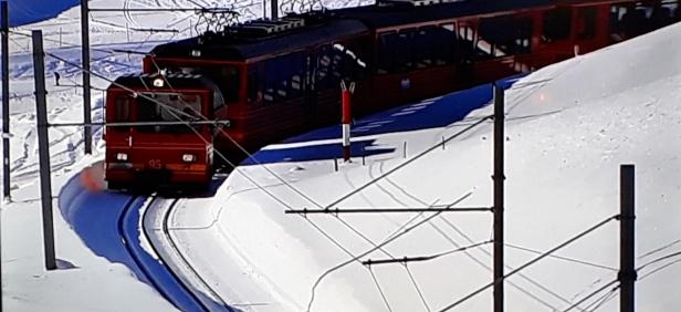 Schweiz Jungfraujochbahn (5)