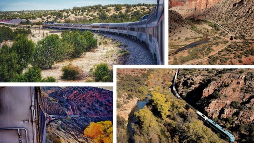 Eisenbahn-Romantik: Mit dem Zug durch den Wilden-Westen, und dabei den Grand Canyon State auf Schienen entdecken.